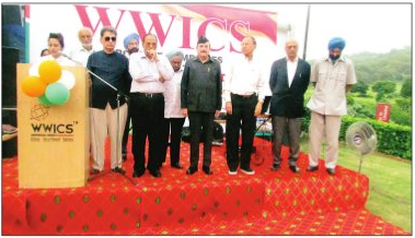 WWICS felicitated eminent personalities this Independence Day