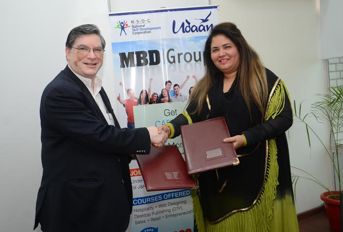 MBD Group signs a MoU with National Skill Development Corporation