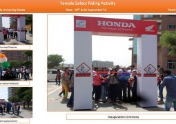 mega women safety drive
