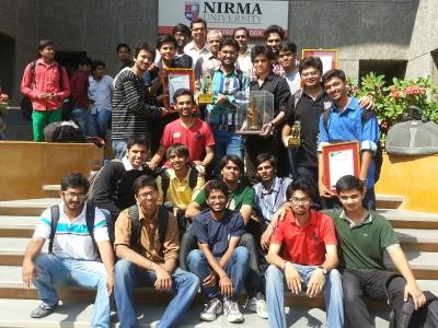 Nirma University : ROBOCON 2014