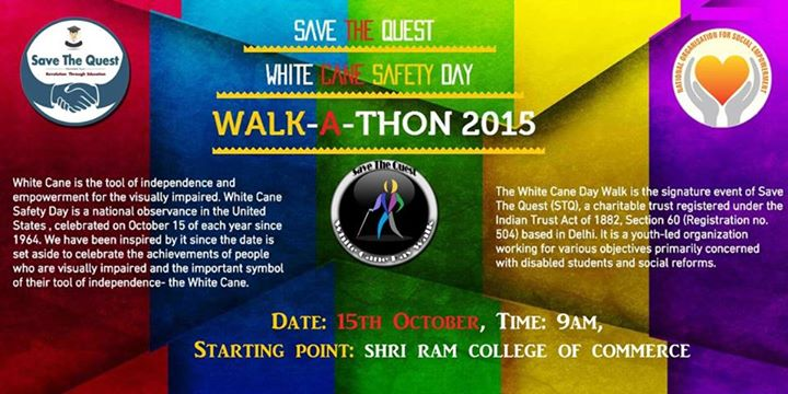 National NGO organizes White Cane Day Walk on Oct 15th