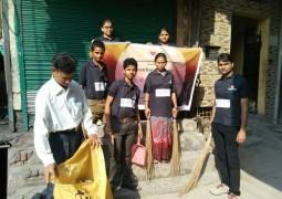 National Ngo promotes PM Modi's Swachh Bharat Abhiyan in Tughlakabad