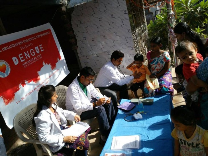 National NGO organized Campaign for 'Prevention and Control of Dengue'