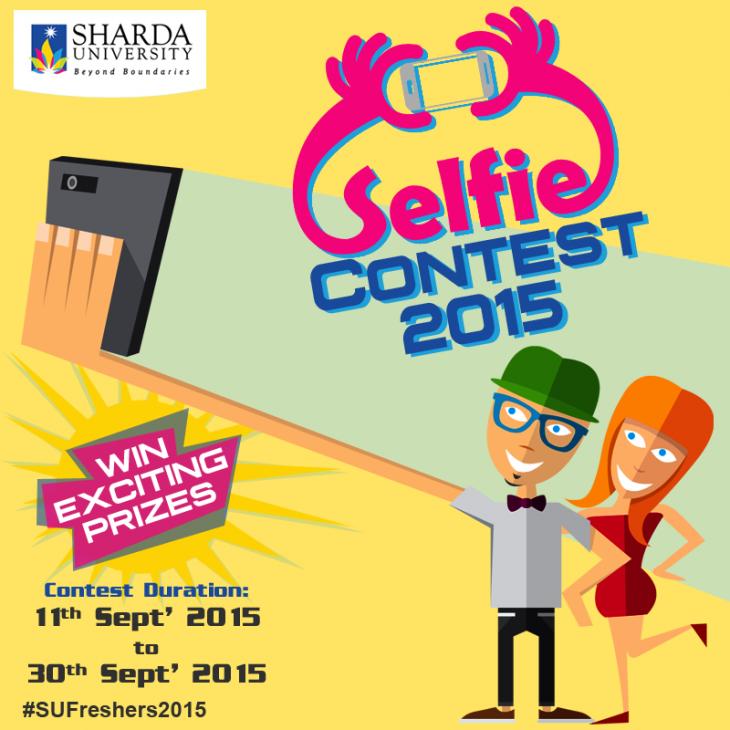 Sharda University organizes Freshers' Selfie Contest