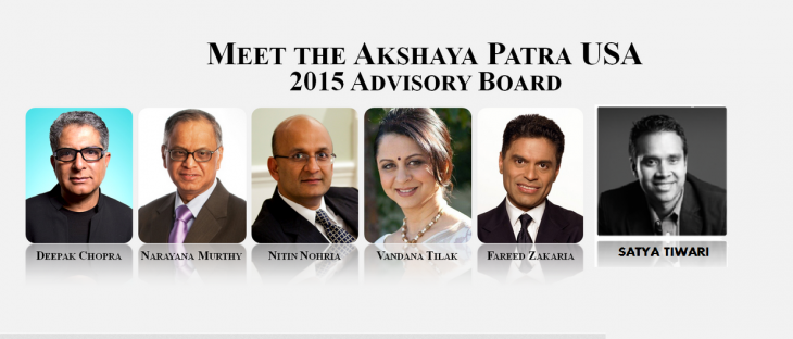 Akshaya Patra USA  joined by Satya Tiwari