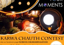 Post Karwa Chauth Mehndi Moments, win prizes from Bikanervala