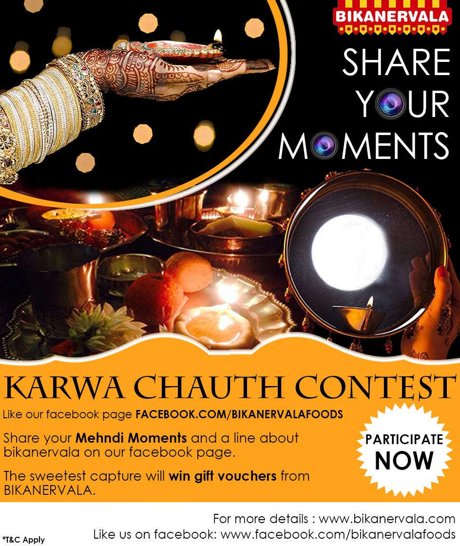 Bikanervala Karwachauth contest