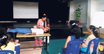 Eurokids organized first-aid program for its business heads
