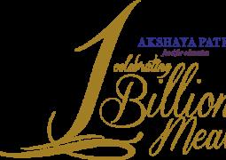 Billionth meal celebration with Javed Akthar and Shankar Mahadevan