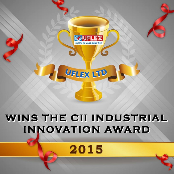 CII awarded Uflex for cutting edge innovation