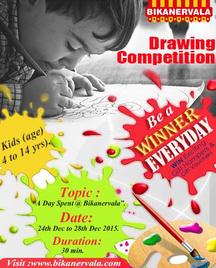 Bikanervala to hold drawing competition for kids during Christmas