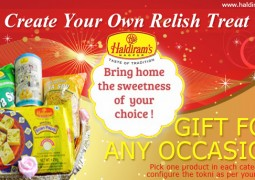 Make this New Years special for your loved ones with assorted gifts from Haldirams