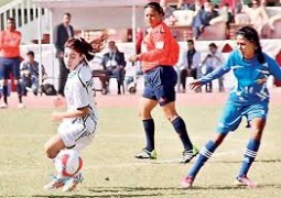 Hosted by Sharda University, Women's National Football Championship 2015-16 sees participation in huge numbers