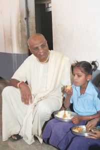 Madhu Pandit Dasa conferred with the Padma Shri award on Republic Day