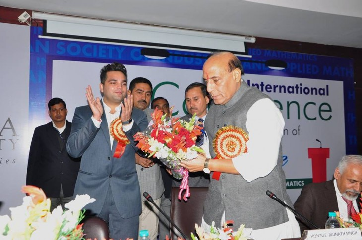 India capable of retaliating against terrorist attacks, said Home Minister Rajnath Singh at a seminar at Sharda University