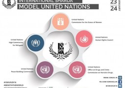 The event will be held on 23rd and 24th January 2016 at Block 3, Sharda University Knowledge Park III Greater Noida. It is based on a simulation conference of the United Nations which will provide the students an opportunity to represent as delegates from various countries in different committees of the United Nations.