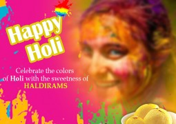Holi Orange assortment and more by Haldirams