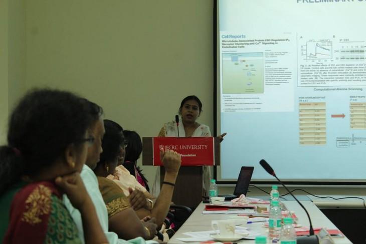 JECRC University, Rajasthan hosts Women Scientist Scheme