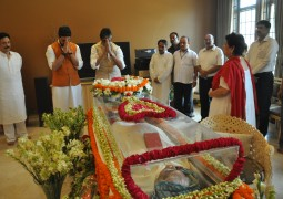 Numerous Personages attended the Funeral of Subrata Roy's Mother
