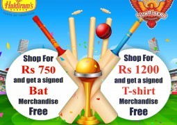 Shop at Haldirams and seize the opportunity to win exciting merchandise