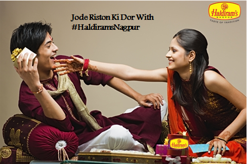 Place an online order on Haldirams Nagpur, and get a Rakhi free!