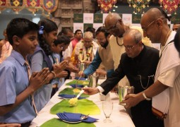 Akshaya Patra celebrates the serving of its 2 Billionth Meal