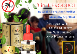 UNICA, dengue protection, day time mosquitos repellent