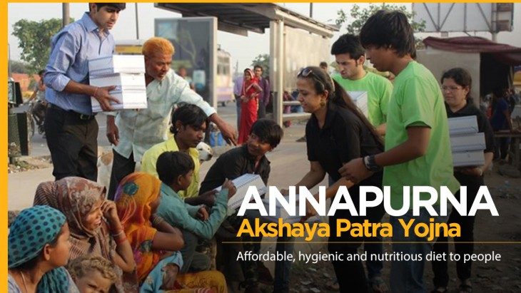 Annapurna Akshaya Patra Yojana Offers Food for Rs. 10 for Poor in Chandigarh.
