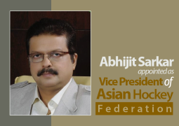 Abhijit Sarkar appointed as Vice President of Asian Hockey Federation