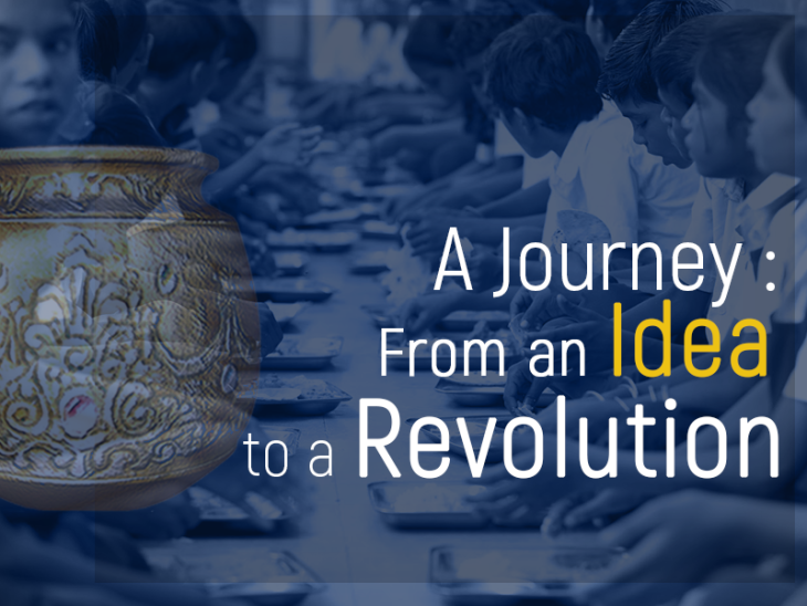 The Journey of Akshaya Patra: From an Idea to a Revolution.