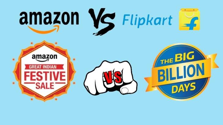 Attractive Diwali Deals for All as the Race Flipkart vs Amazon begins
