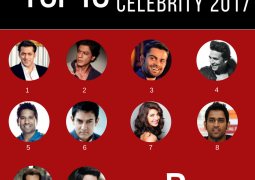 2017 Forbes India celebrity 100 List revealed by Forbes India