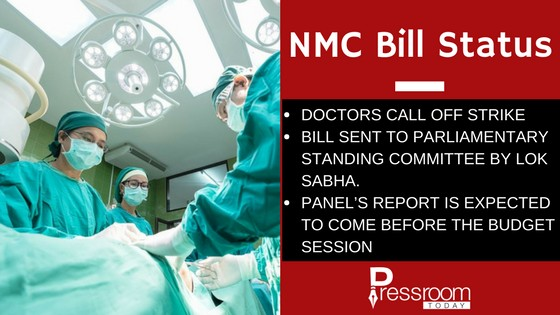 national medical commission bill status