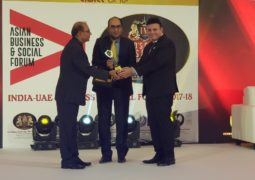 ICFAI Group wins World's Greatest Brands Leaders Asia Award, Vinod Adani and Mr. HE Vipul in attendance