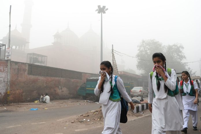 Delhi chokes over hazardous air quality post Diwali