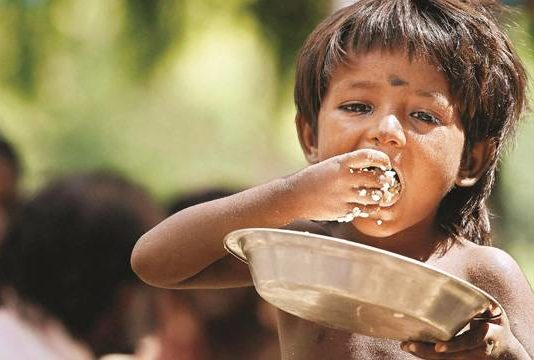 India's Global Hunger Index increases from 100 to 103