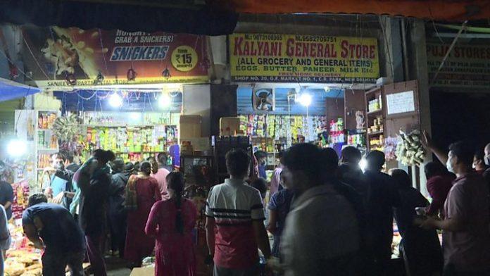 Delhi curfew corona virus