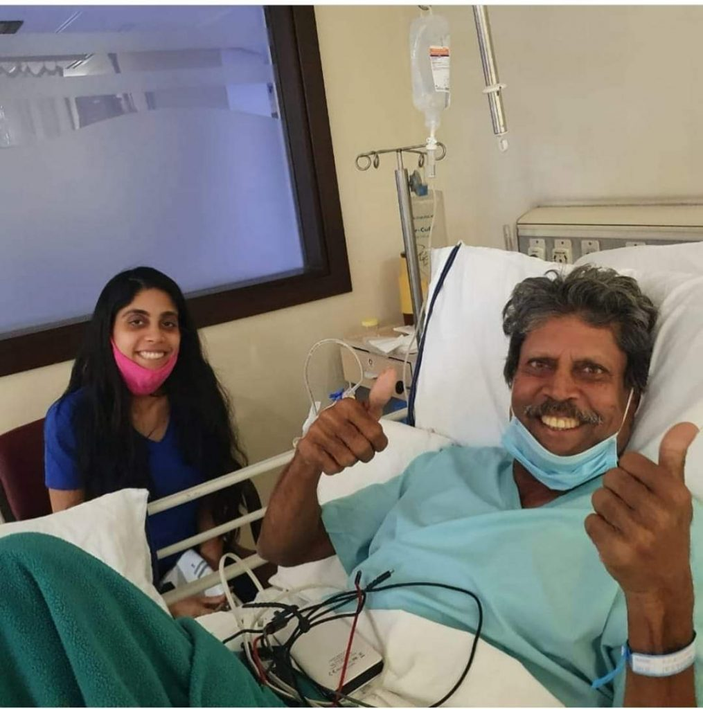 Kapil Dev suffers heart attack recovered