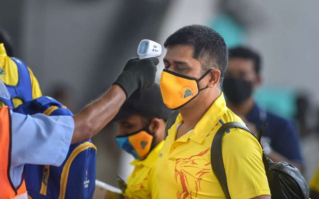 MS Dhoni silent on covid 19