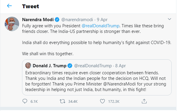 similar between Trump and Modi-min