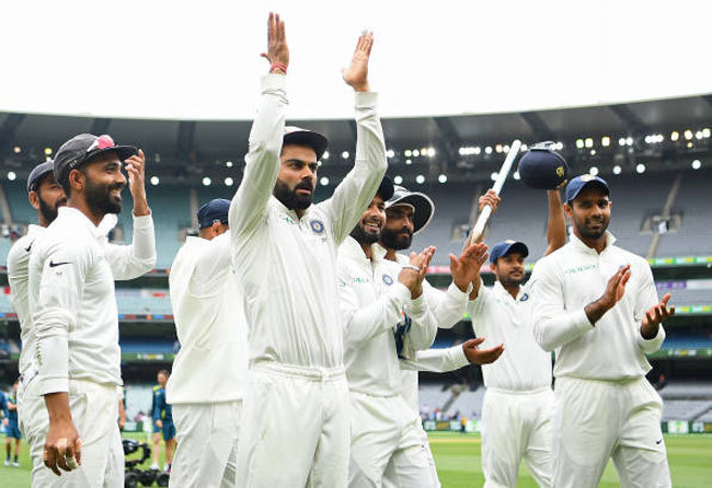 team india test match with australia