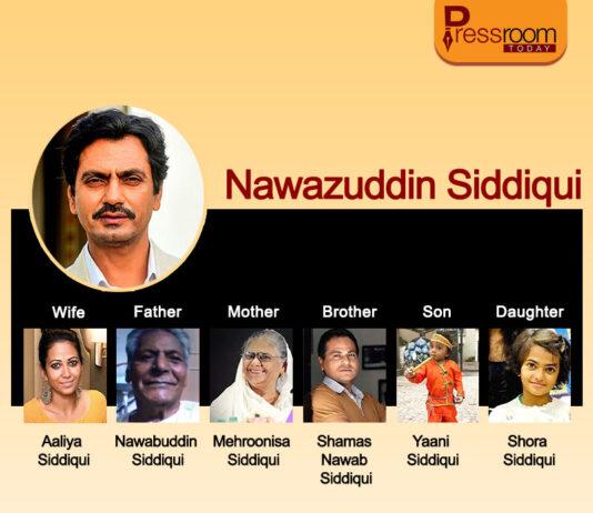 Nawazuddin Siddqui family tree